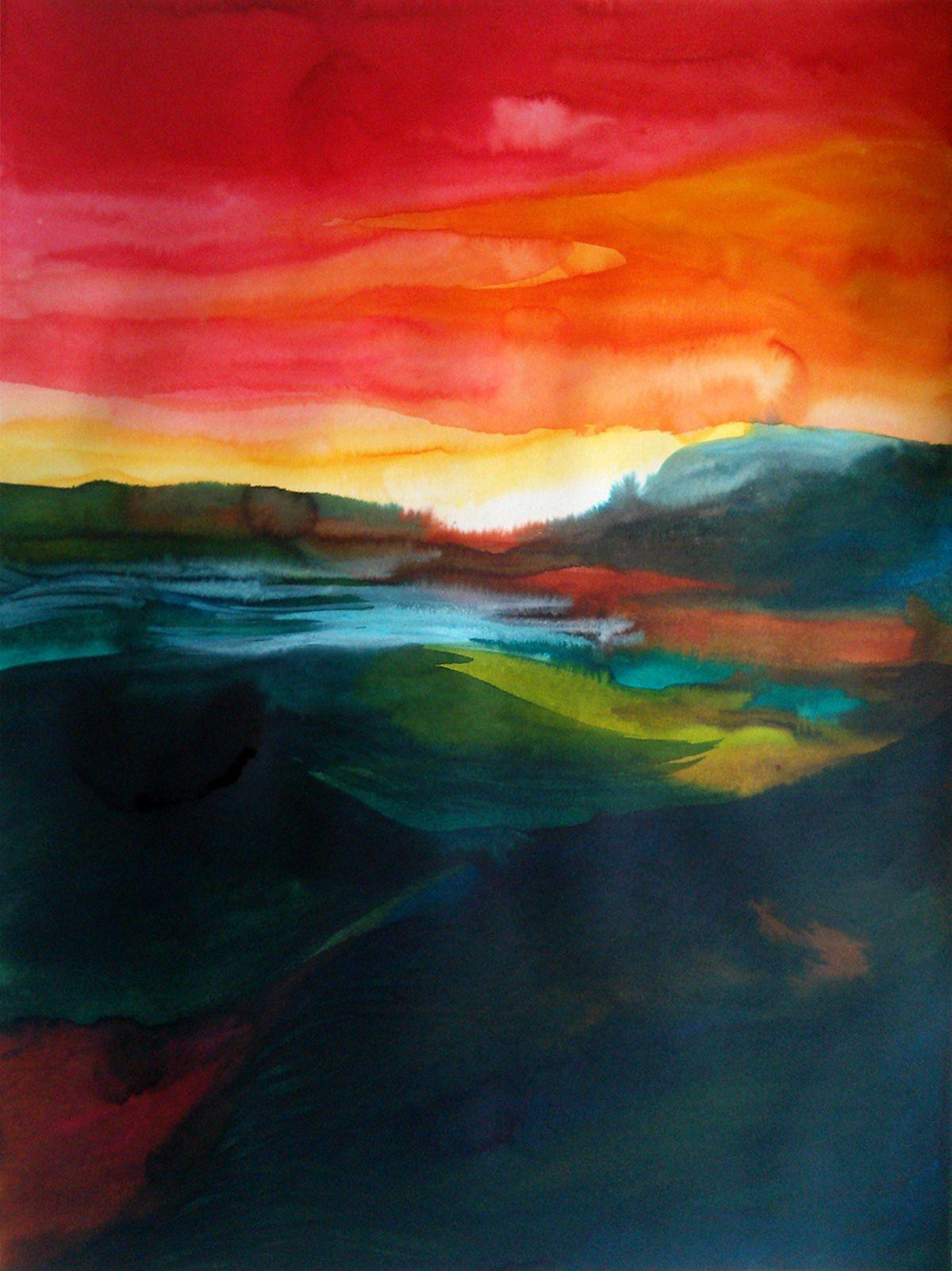 Louise Duneton                80 x 60 cm encre sur papier